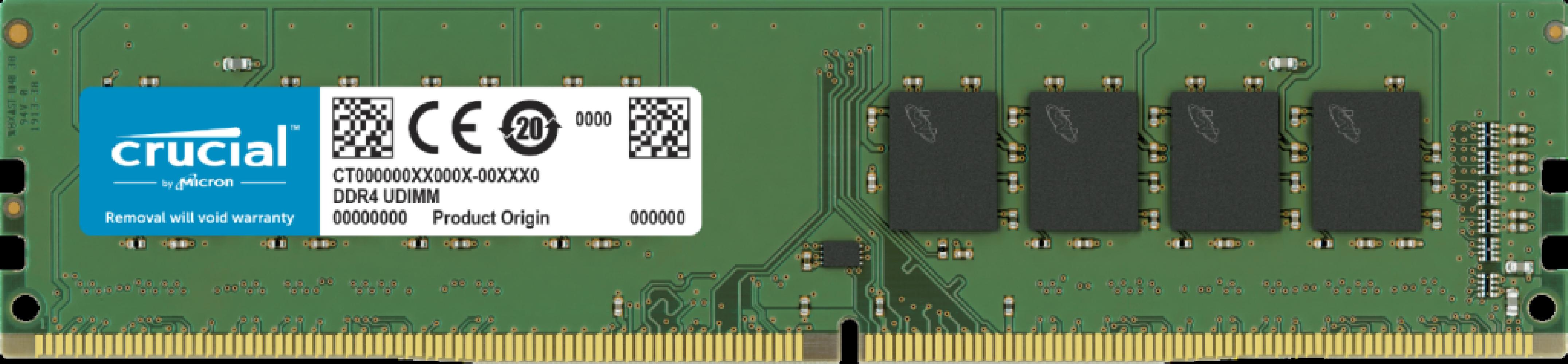 Crucial 8GB DDR4-2666 UDIMM